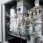 写真: 自家発電設備