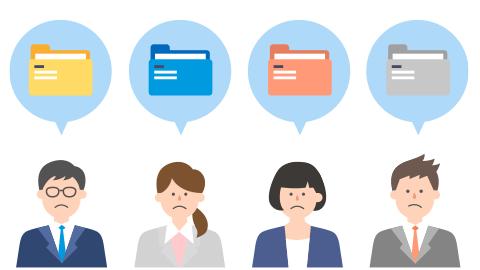 営業個人の提案ノウハウが属人化されており、組織全体の営業力強化につながっていない