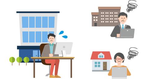ウェブ制作会社C社さまの場合 勤務形態の多様化により、社内・社外のコミュニケーションが悪化