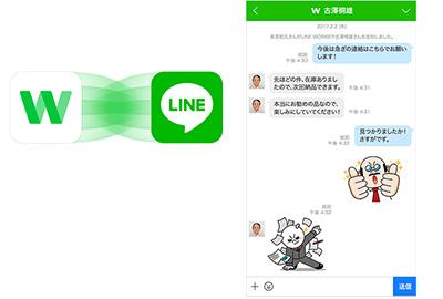 LINE連携機能