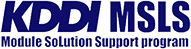 KDDI MSLS Module Solution Support program