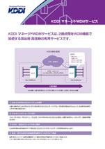 KDDI マネージドWDMサービス