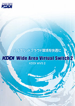 KDDI Wide Area Virtual Switch 2|step2