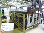 写真: 旧800MHz帯対応基地局のバッテリー (蓄電池)