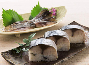 【青森】八戸鯖の棒寿司・鯖のスモークセット
