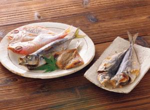 【福岡】真あじとれんこ鯛の干物詰合せ