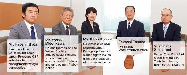 Phot: <Fiscal 2010> Four Material Issues and Expectations for KDDI