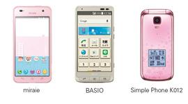 miraie BASIO Simple Phone K012