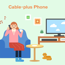 Cable-plus Phone