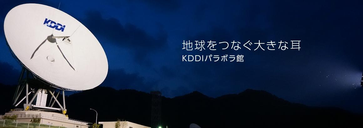 地球をつなぐ大きな耳 KDDIパラボラ館
