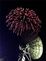 2015年8月 アンテナと花火 [2]]