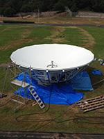 2015年9月 アンテナ建設工事 (主反射鏡)