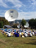2015年10月 150名のこども達の見学