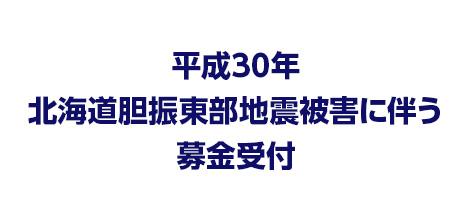 平成30年 北海道胆振東部地震被害