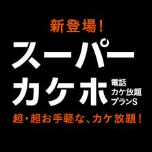 スーパーカケホ(電話カケ放題プランS)